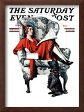 """Candy"" Saturday Evening Post Cover, June 27,1925 Framed Giclee Print by Norman Rockwell"