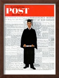 """Graduate"" Saturday Evening Post Cover, June 6,1959 Framed Giclee Print by Norman Rockwell"
