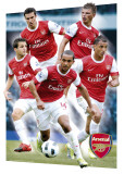 ARSENAL - Players 10/11, 3-D Poster Prints