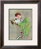 """Diary"", June 17,1933 Framed Giclee Print by Norman Rockwell"
