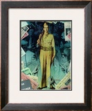 """The Goddess and Pvt. Gallagher"" page 9, October 11,1941 Framed Giclee Print by Norman Rockwell"
