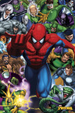 SPIDERMAN - Enemies Plakat