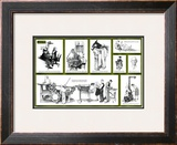 """""""Norman Rockwell Visits a Country Editor"""" B, May 25,1946 Framed Giclee Print by Norman Rockwell"""