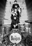 BEATLES - On Stage, 3-D Poster Pósters
