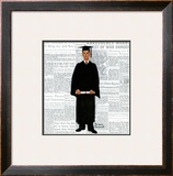 """Graduate"", June 6,1959 Framed Giclee Print by Norman Rockwell"