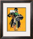 &quot;Hatcheck Girl&quot;, May 3,1941 Framed Giclee Print by Norman Rockwell