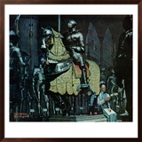 """Armor"", November 3,1962 Framed Giclee Print by Norman Rockwell"