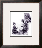 """Slim Finnegan"" C, July 8,1916 Framed Giclee Print by Norman Rockwell"