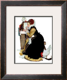 """Summer stock"", August 5,1939 Framed Giclee Print by Norman Rockwell"