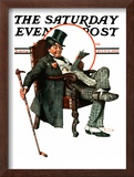 """Country Gentleman"" Saturday Evening Post Cover, July 11,1925 Framed Giclee Print by Norman Rockwell"