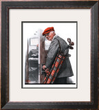 """Important Business"", September 20,1919 Framed Giclee Print by Norman Rockwell"