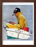 """Sport"", April 29,1939 Framed Giclee Print by Norman Rockwell"