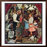 """""""April Fool, 1948"""", April 3,1948 Framed Giclee Print by Norman Rockwell"""