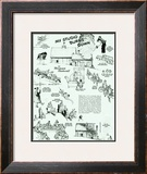 &quot;My Studio Burns down&quot;, July 17,1943 Framed Giclee Print by Norman Rockwell