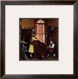 """Marriage License"", June 11,1955 Framed Giclee Print by Norman Rockwell"