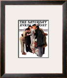 """Hollywood Starlet"" Saturday Evening Post Cover, March 7,1936 Framed Giclee Print by Norman Rockwell"