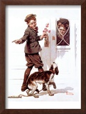 """""""Three's Company"""", June 19,1920 Framed Giclee Print by Norman Rockwell"""