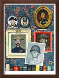 &quot;Willie Gillis Generations&quot;, September 16,1944 Framed Giclee Print by Norman Rockwell