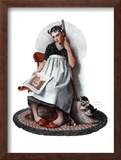 """Daydreams"" ""Cinderella"", November 4,1922 Framed Giclee Print by Norman Rockwell"