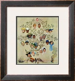 """Family Tree"", October 24,1959 Framed Giclee Print by Norman Rockwell"