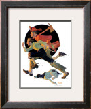 """To the Rescue"", March 28,1931 Framed Giclee Print by Norman Rockwell"