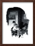 """A Love Story"" page 11 Framed Giclee Print by Norman Rockwell"