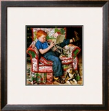 &quot;Trumpeter&quot;, November 18,1950 Framed Giclee Print by Norman Rockwell
