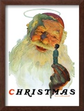 """Christmas, 1927"" (King Kong Santa), December 3,1927 Framed Giclee Print by Norman Rockwell"