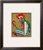 """Jester"", February 11,1939 Framed Giclee Print by Norman Rockwell"