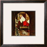 """Choirboy"", April 17,1954 Framed Giclee Print by Norman Rockwell"