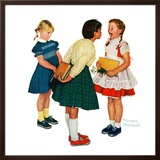 """Missing tooth"", September 7,1957 Framed Giclee Print by Norman Rockwell"