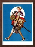 """At the Auction"" or ""Found Treasure"", July 31,1937 Framed Giclee Print by Norman Rockwell"