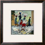 """Sunday Morning"", May 16,1959 Framed Giclee Print by Norman Rockwell"