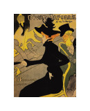 Le Divan Japonais Giclee Print by Henri de Toulouse-Lautrec