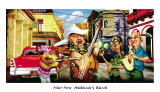 Habana's Band Print by Adam Perez