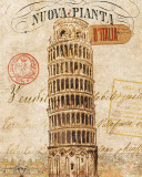 Letter from Pisa Print by Wild Apple Portfolio