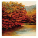 Riverside Maples Prints by Robert Striffolino