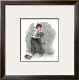 """Redhead Loves Hatti"", September 16,1916 Framed Giclee Print by Norman Rockwell"