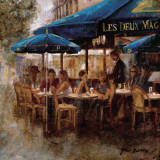 Les Deux Magots Art by Noemi Martin