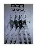 Andy Warhol - Elvis třikrát (Triple Elvis, 1963) Digitálně vytištěná reprodukce
