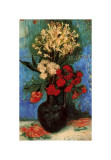 Vase with Carnations and Other Flowers, c.1886 Giclee Print by Vincent van Gogh