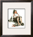 """Lazybones"", September 6,1919 Framed Giclee Print by Norman Rockwell"