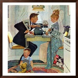 """Dewey v. Truman"", October 30,1948 Framed Giclee Print by Norman Rockwell"