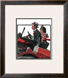 """Excuse My Dust"", July 31,1920 Framed Giclee Print by Norman Rockwell"
