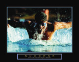 Success: Swimmer Affiches