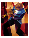 Swing Affiches par Keith Mallett