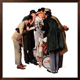 """Hollywood Starlet"", March 7,1936 Framed Giclee Print by Norman Rockwell"
