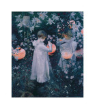 Carnation, Lily, Lily, Rose Giclée-tryk af John Singer Sargent
