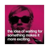 Andy Warhol - Čekání (Waiting) Digitálně vytištěná reprodukce