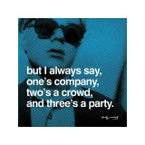Three's a Party Giclee Print by Andy Warhol